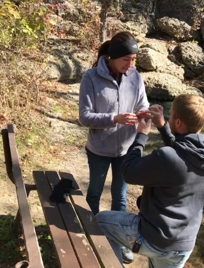 Guada's Proposal in Chickasaw National Recreation Area, Oklahoma