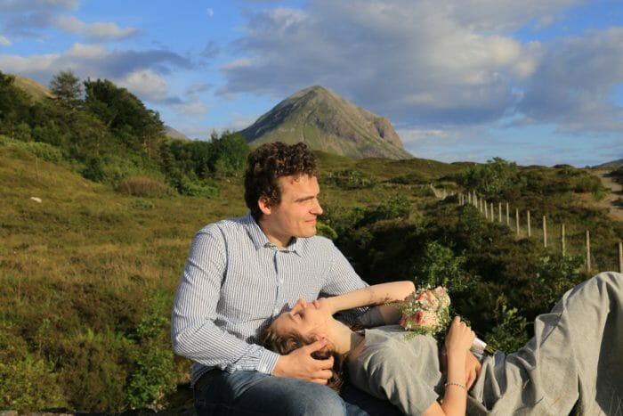 Anastasia's Proposal in Isle of Skye Scotland