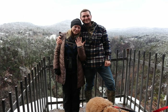 Justin and Patti's Engagement in Tallulah Gorge State Park - GA