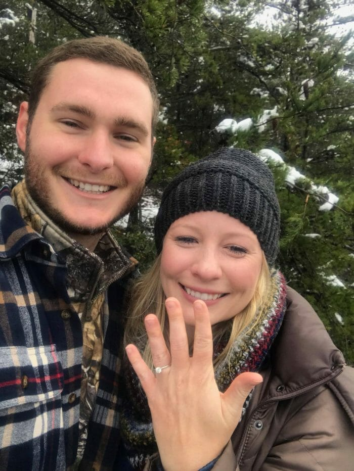 Wedding Proposal Ideas in Tallulah Gorge State Park - GA