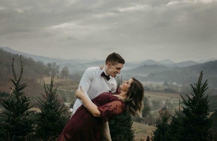 Victoria and Matthew's Engagement in Piedmont Park