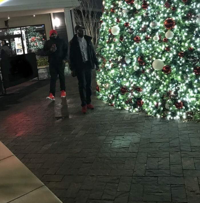 Proposal Ideas At the Norfolk Premium Outlet (in front of the giant Christmas tree)