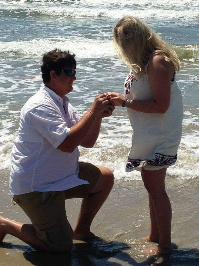 Engagement Proposal Ideas in In Port Aransas, Texas