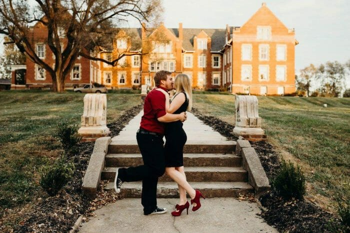 Megan and Andrew's Engagement in Maryville, Missouri