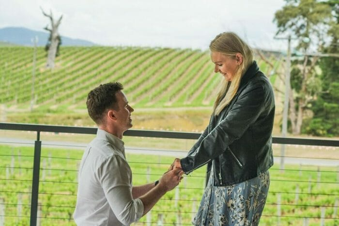 Marriage Proposal Ideas in Balgownie estate, Yarra valley