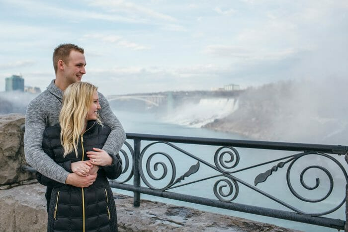 Ally and Andrew's Engagement in Niagara Falls