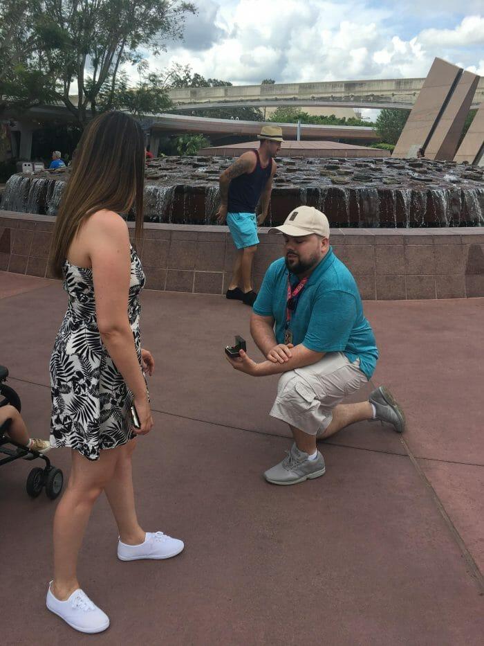 Proposal Ideas Epcot in Disney, Florida