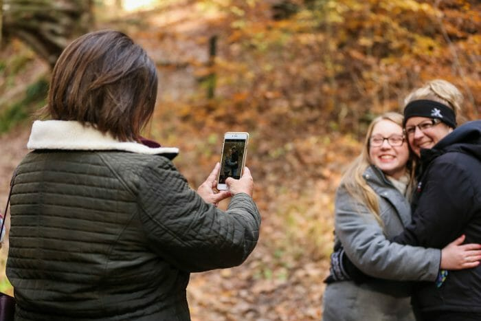Engagement Proposal Ideas in Turkey Run State Park