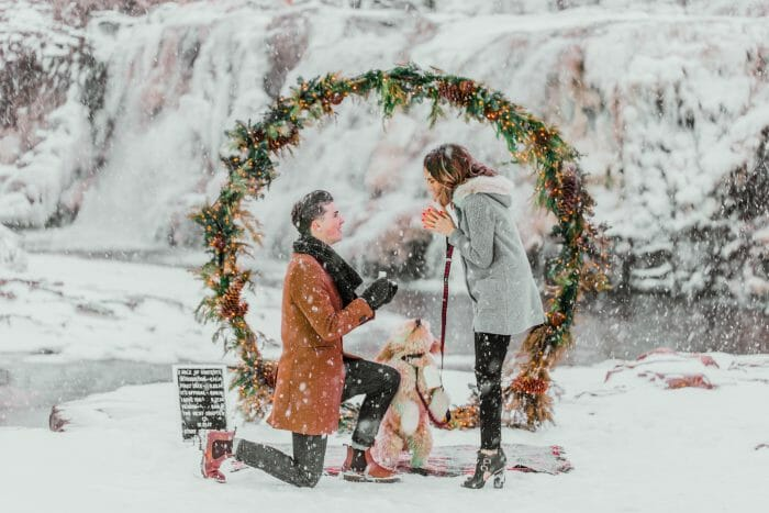 Where to Propose in Falls Park, Sioux Falls, SD