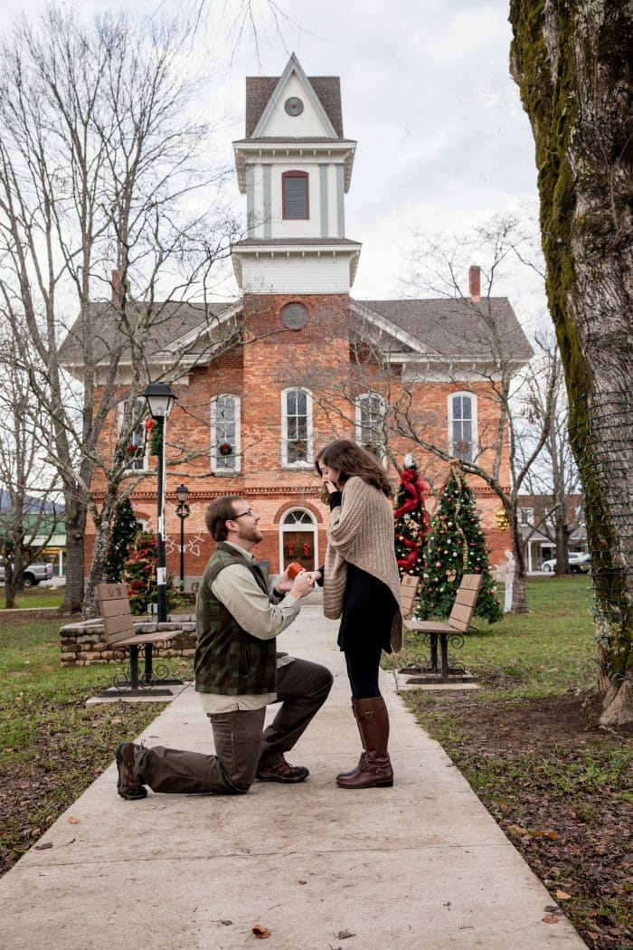 Wedding Proposal Ideas in Hayesville, North Carolina