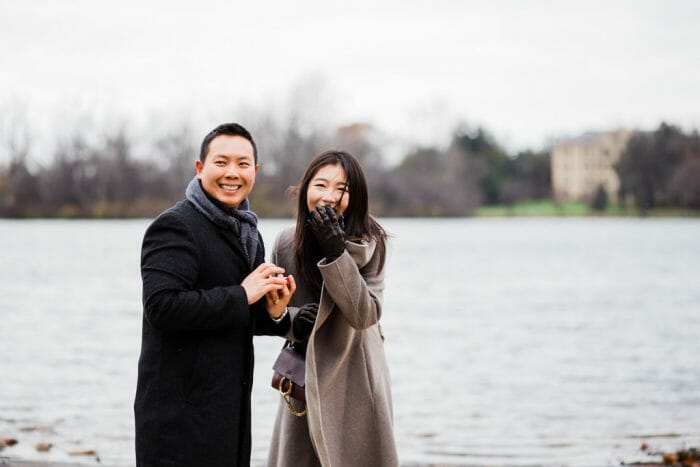Dasol and Robbin's Engagement in Notre Dame University