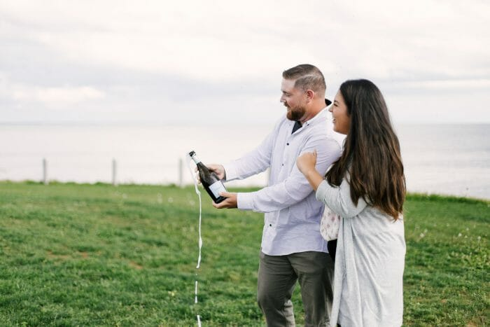 Where to Propose in Point Prim Lighthouse, Prince Edward Island Canada