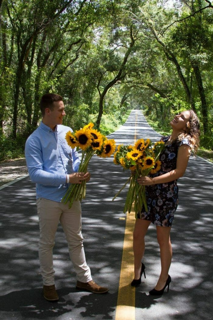 Engagement Proposal Ideas in Shady Road