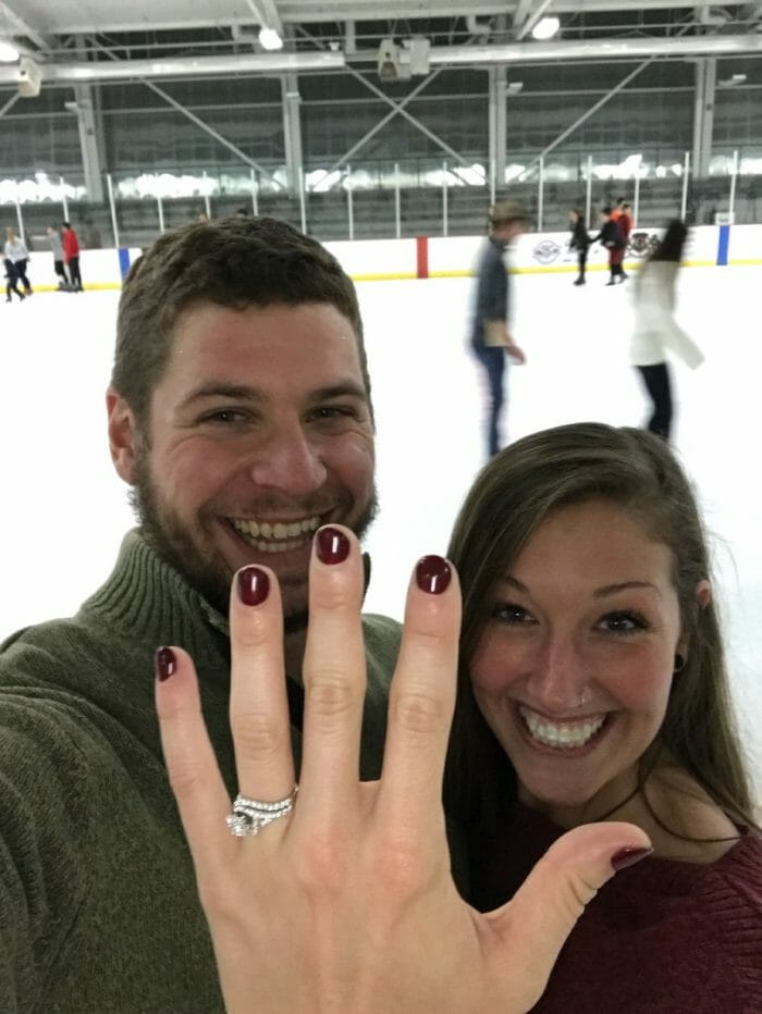Shelby's Proposal in Swonder Ice Arena Evansville, IN