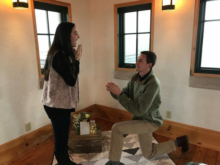 Wedding Proposal Ideas in King Estates Winery in Portland Oregon