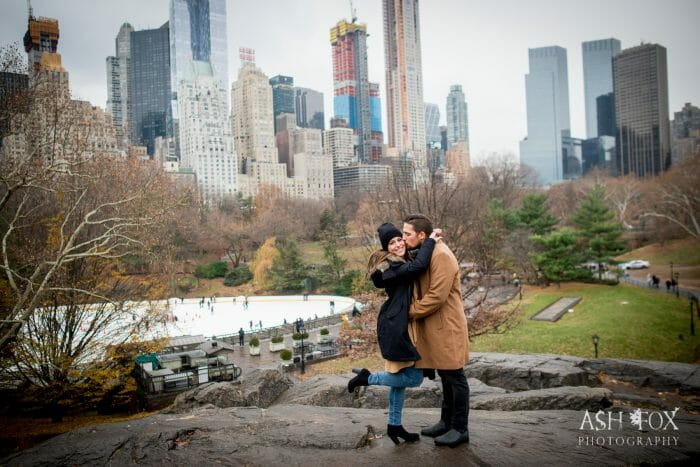 Marriage Proposal Ideas in Central Park, New York City