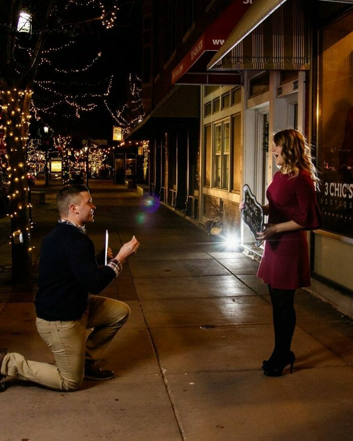 Where to Propose in Downtown Plainfield, IL.