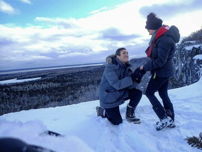 Proposal Ideas Cup and saucer hiking trail on Manitoulin Island