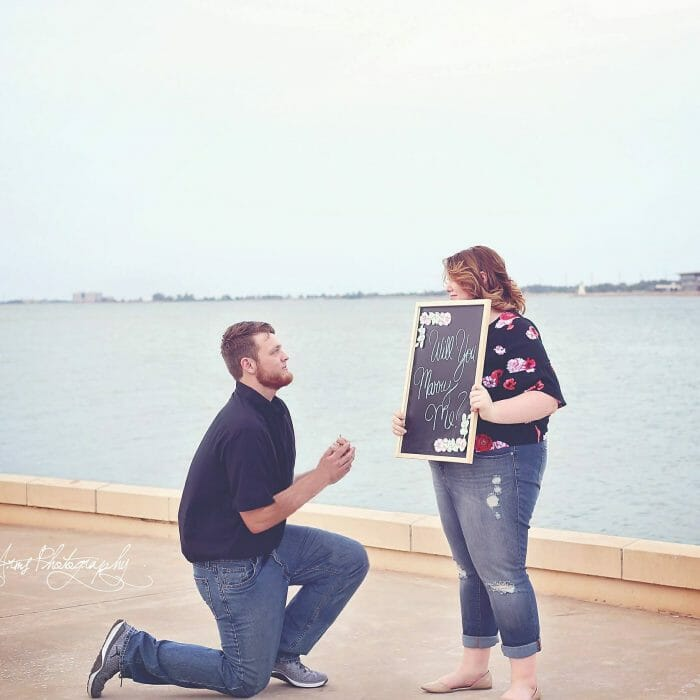 Where to Propose in At Lake Hefner In oklahoma
