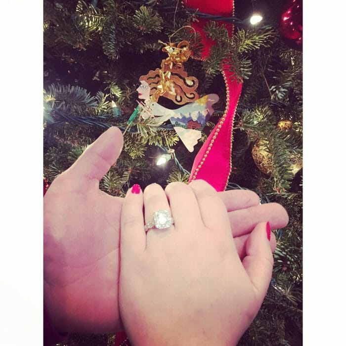 Wedding Proposal Ideas in Christmas Party