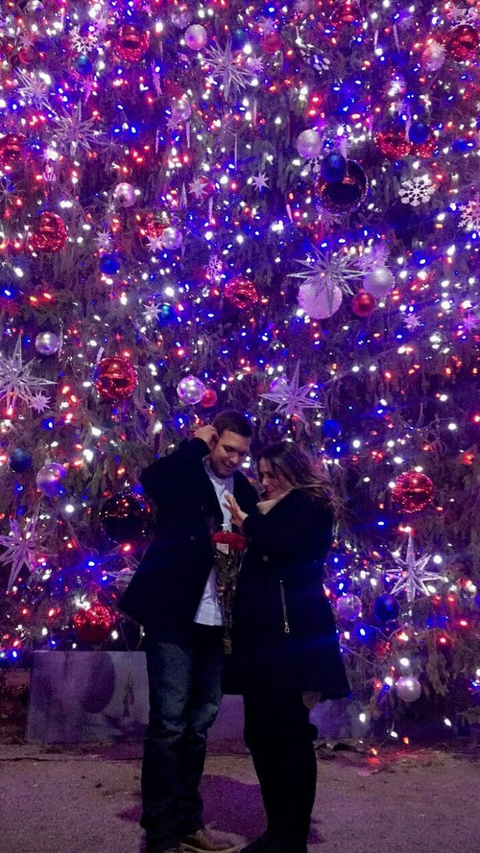 Taylor and Manny's Engagement in Bryant Park