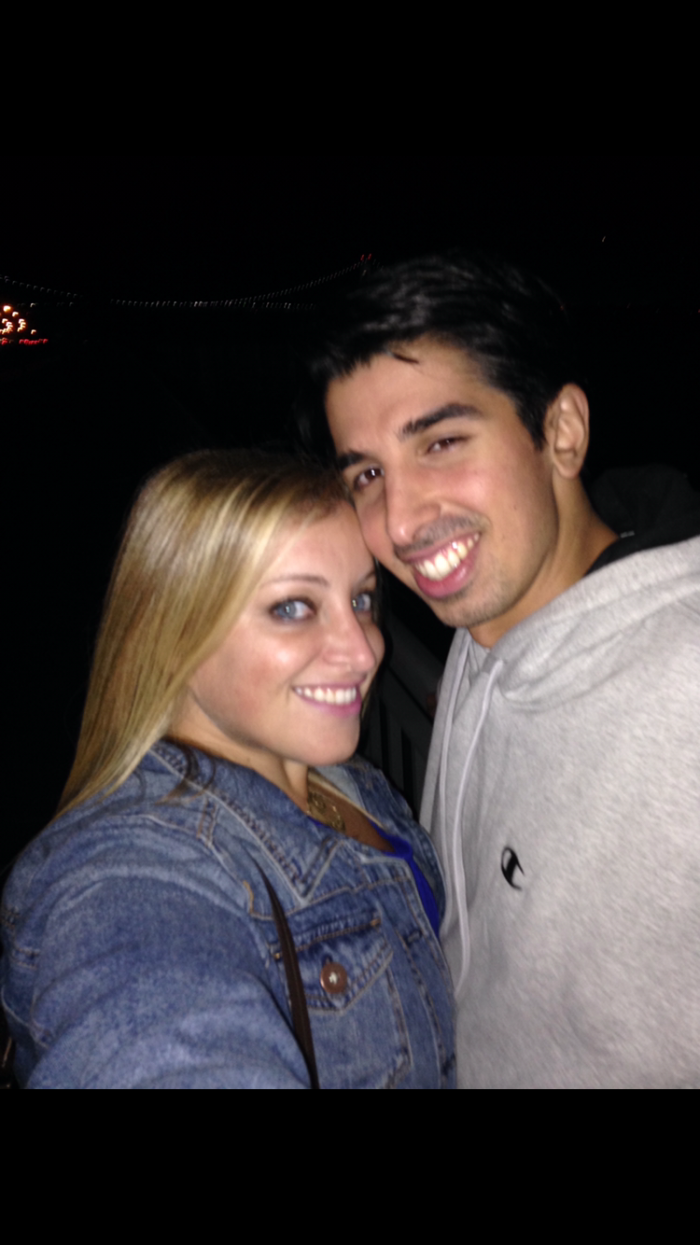 Melissa and Sal's Engagement in Dyker Heights Brooklyn