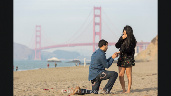 Sanjit and Priya's Engagement in San Francisco