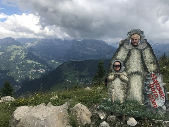Where to Propose in On top of a Mountain (stanza horn) in Switzerland!