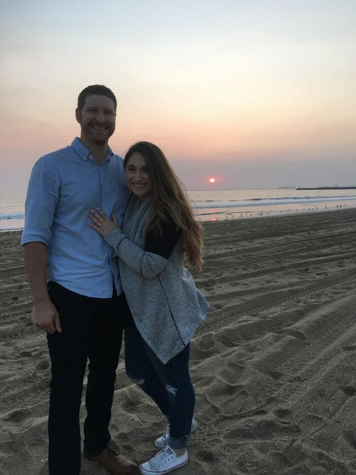 Louisa's Proposal in Seal Beach California