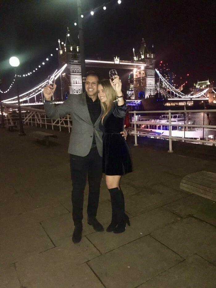 Wedding Proposal Ideas in Tower Bridge, London UK
