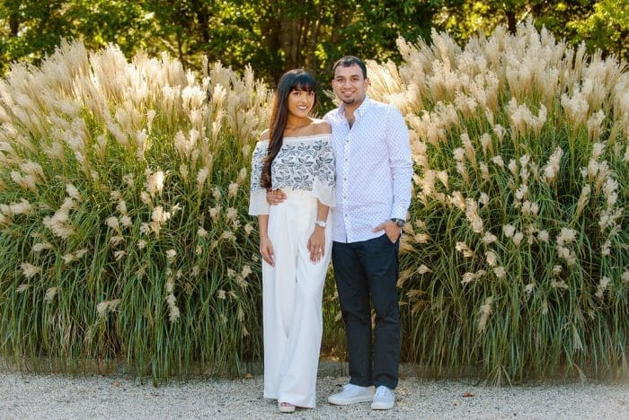 Mansi and Dipit's Engagement in Bedell Cellars