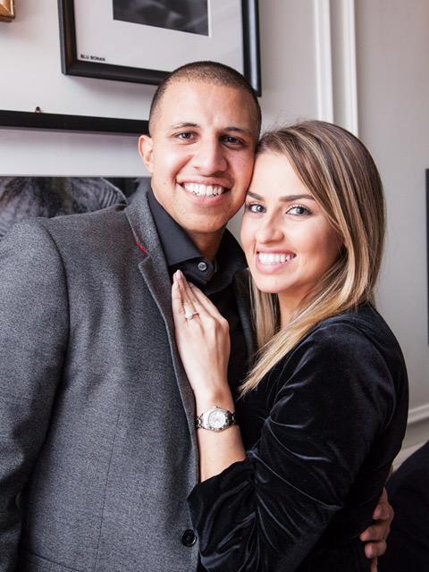 Lia and Ramez's Engagement in Tower Bridge, London UK