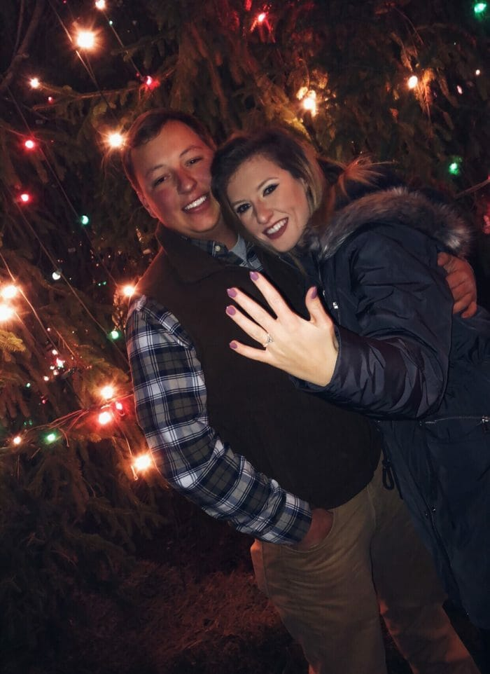 Marriage Proposal Ideas in McAdenville Christmas Town USA