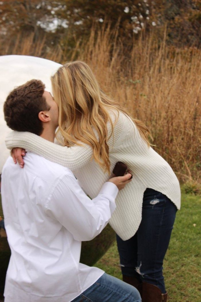 MaryKate and kyle's Engagement in Avalon Park, Stony Brook, New York