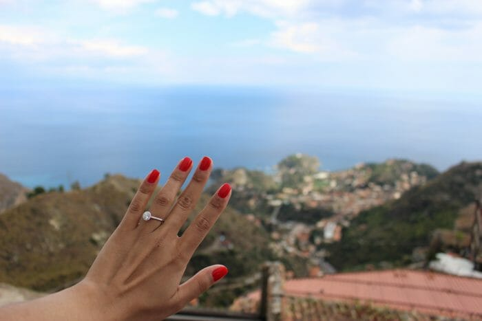 Where to Propose in Castelmola, Sicily, Italy