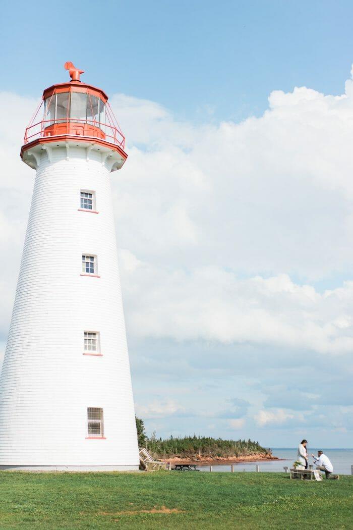 Proposal Ideas Point Prim Lighthouse, Prince Edward Island Canada