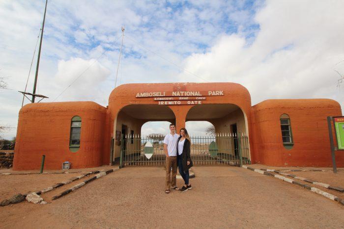Marriage Proposal Ideas in On Safari in Amboseli National Park, Kenya