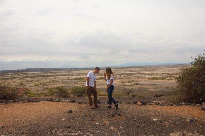Erin's Proposal in On Safari in Amboseli National Park, Kenya