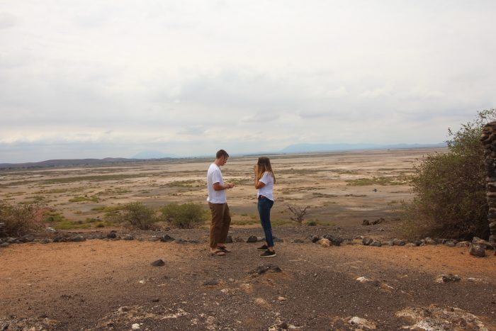 Where to Propose in On Safari in Amboseli National Park, Kenya