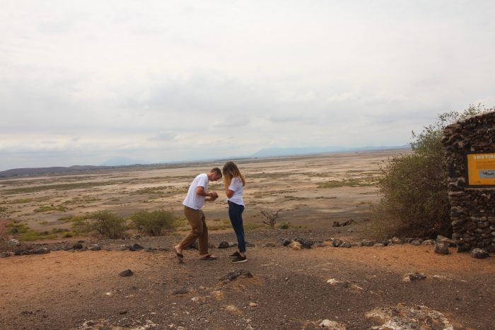Wedding Proposal Ideas in On Safari in Amboseli National Park, Kenya