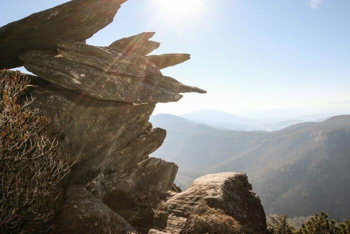 Proposal Ideas Hawksbill Mountain North Carolina