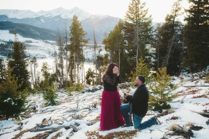 Marriage Proposal Ideas in Breckenridge, Colorado