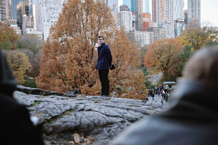 Where to Propose in Central Park