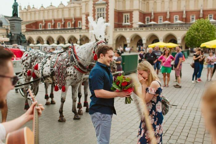 Engagement Proposal Ideas in Krakow, Poland