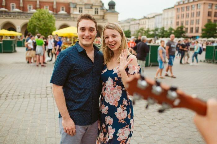 Joanna's Proposal in Krakow, Poland
