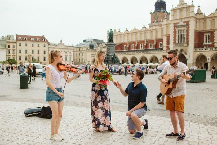 Where to Propose in Krakow, Poland