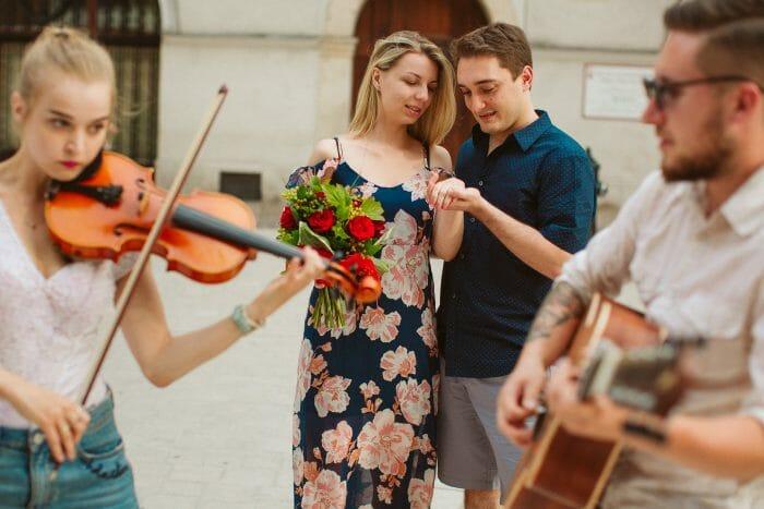 Wedding Proposal Ideas in Krakow, Poland