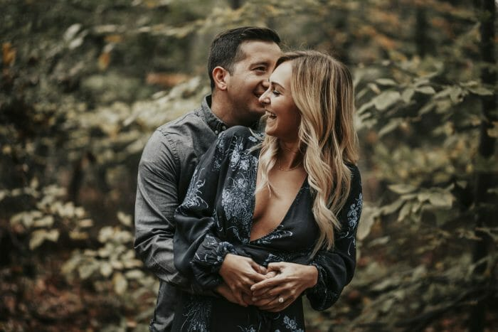 Engagement Proposal Ideas in Ramapo Reservation in Mahwah, New Jersey