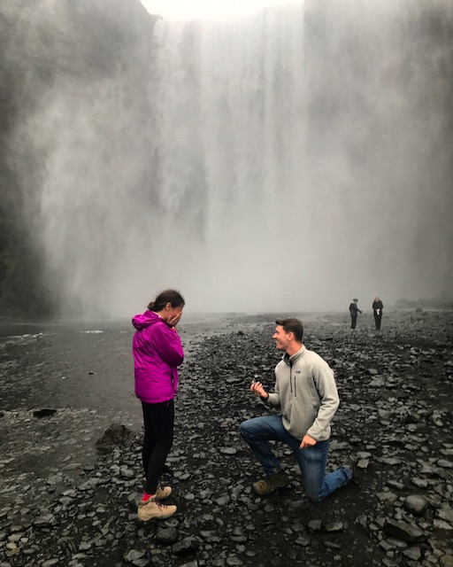 Wedding Proposal Ideas in Iceland
