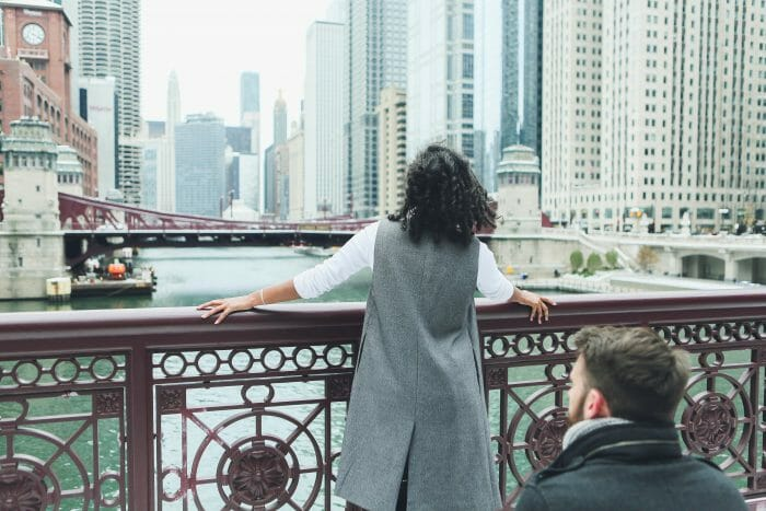 Engagement Proposal Ideas in In our hometown of Chicago!